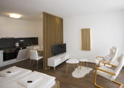 Viva apartmány ubytování Třeboň - Apartmán 4